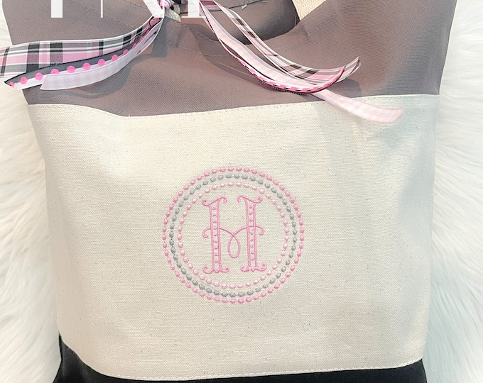 Personalized Tote Bag, Daycare Tote Bag, Kids Tote Bag, Baby Gift