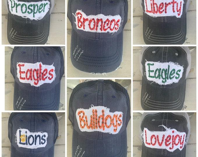 Spirit Wear Hat Simple Font