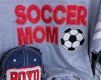 SPORT MOM Applique Design
