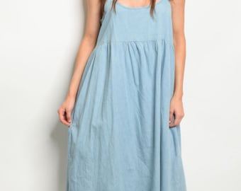 Blue Denim Sundress
