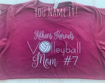 School Sport Number Mom Design