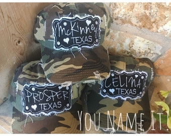 City State Camo Hat