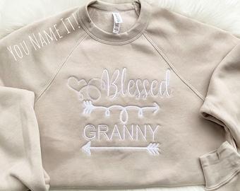 Blessed Grandparent Parent Design