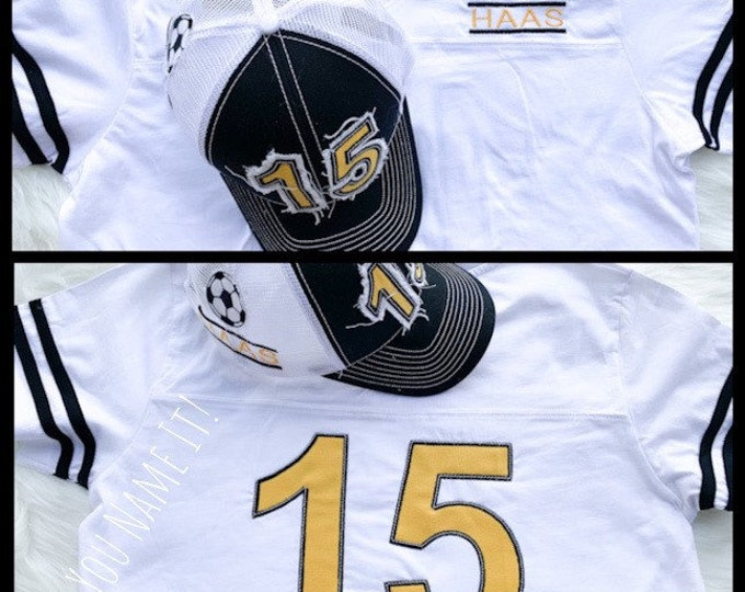 Sport Name and Number Jersey Tee