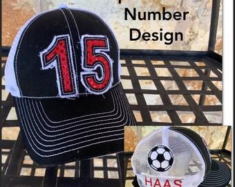 Sport Name Number Spirit Trucker Hat