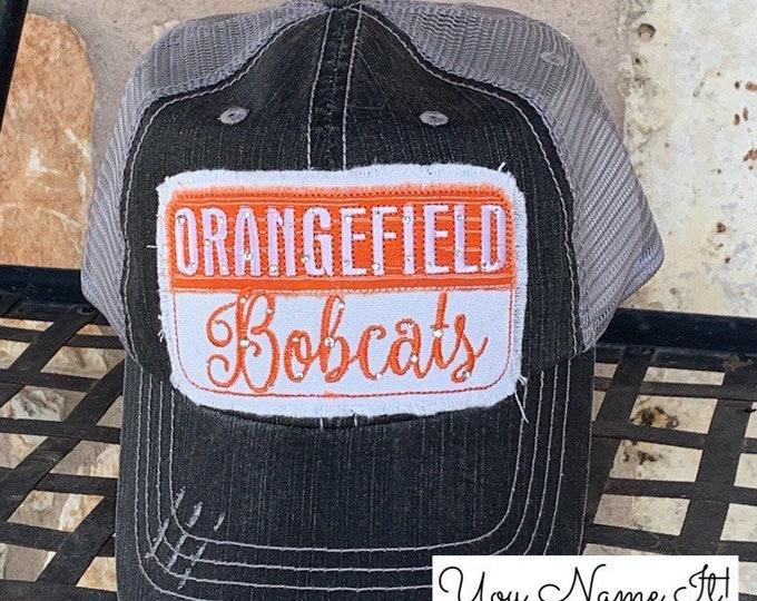 School Spirit Colorblock Hat