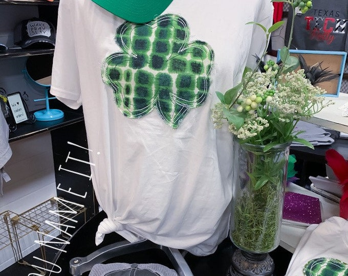 Clover St Patrick's Day Tee