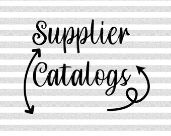 Supplier Catalog Options