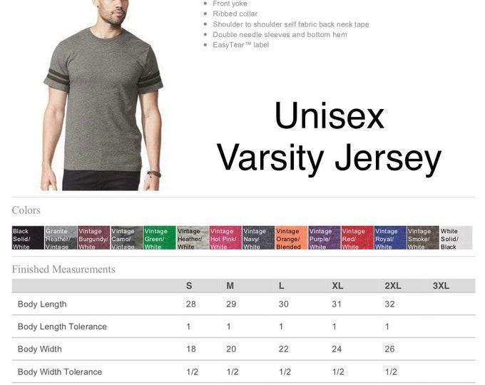 Upgrade - Varsity Style Unisex Tee