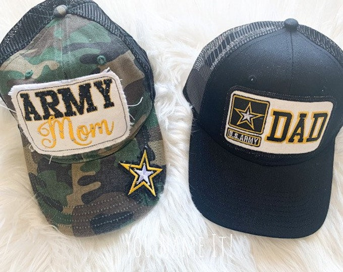 Army Mom or Dad Trucker Hat
