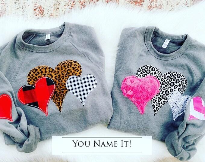 Valentine Heart Sweatshirt