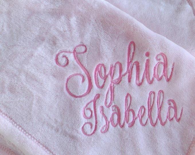 Plush Baby Blanket