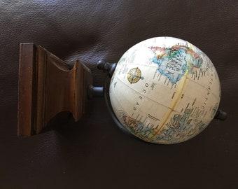 Rare globe etsy rare vintage collectors item thomas blakemore limited globe gumiabroncs Gallery