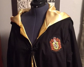 harry potter hair style harry potter robe etsy 5415