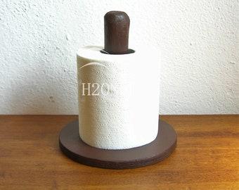 Portascottex a Forma di Casina in Ceramica e Legno DIAM.17 cm Ceramica Giallo