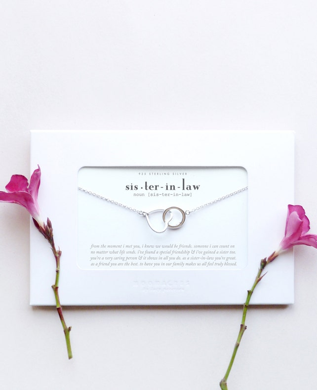 sister in law sister in law wedding gift for brother s etsy