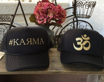 12a1bac0048 Trucker Hats- Karma
