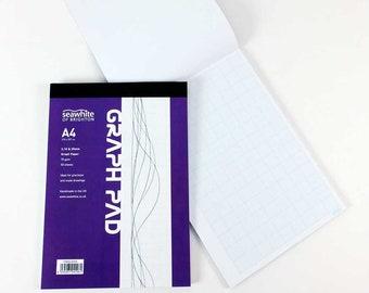 Seawhite Grid Paper Pad – 2/10/20mm A4