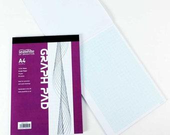 Seawhite Grid Paper Pad – 1/5/10mm A4