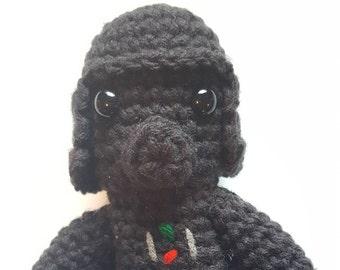 Star Wars, Darth Vader, Crochet Darth Vader, Amigurumi Star Wars,