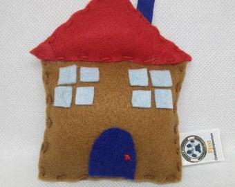 House Cat Toy with catnip/valerian
