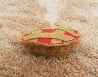 Cherry Pie Cat Toy with catnip/valerian