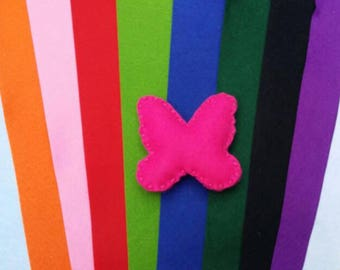 Butterfly Cat Toy with catnip/valerian- 12 colours to choose from