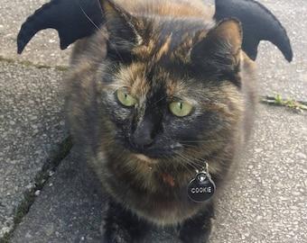Bat Wings Cat Costume
