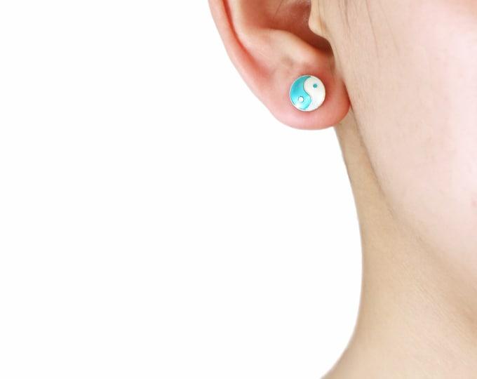 Chinese Element Earrings- Yin&Yang earrings-Bahia Earrings-Chinese Symbol