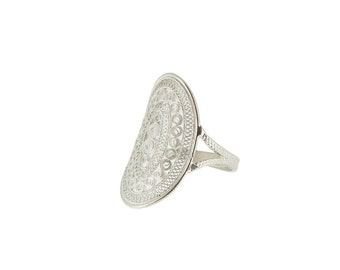 Filigree Ring - Handcrafted - Traditional Pattern - Youth