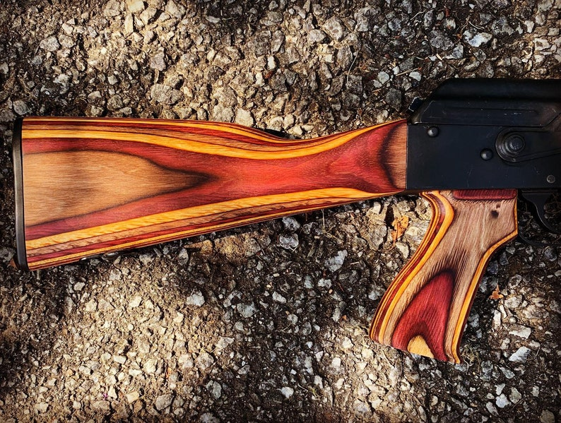 AK Burnt Orange/Oxblood Laminate Stock Set