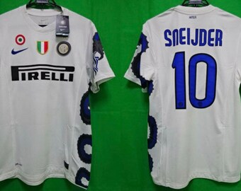 0c7c1474d Retro Inter Milan '11 vintage away soccer jersey(Customization available ).