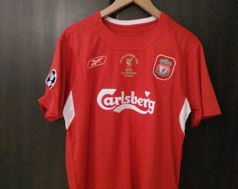 013e7d98 New retro Liverpool '04-'05 vintage soccer jersey