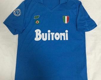 996c2fdb0 Retro Napoli Maradona '87 vintage soccer jersey