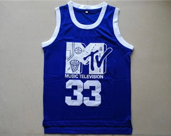 7d3caf04c93 Retro Will Smith  33 MTV first annual Rock N  Jock Stitched throwback  vintage Jersey.
