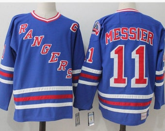 99c9f478a37626 New Mark Messier Stitched thowback Vintage Hockey jersey.New York Rangers