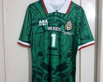 e8812932314 New retro Mexico World Cup '98 vintage Soccer jersey..Jorge Campos