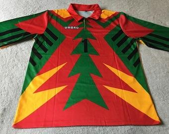 e8812932314 New retro Mexico World Cup '98 vintage Soccer jersey..Jorge Campos