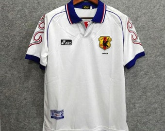 New retro Japan  98 vintage Soccer jersey. 78e8c6f3f