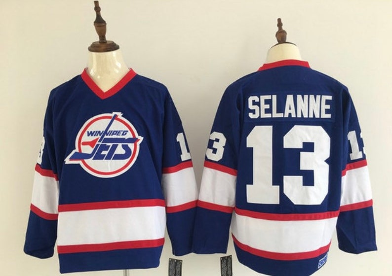 cheap for discount 5330a 883b3 New Mens retro Winnipeg Jets Vintage jersey.