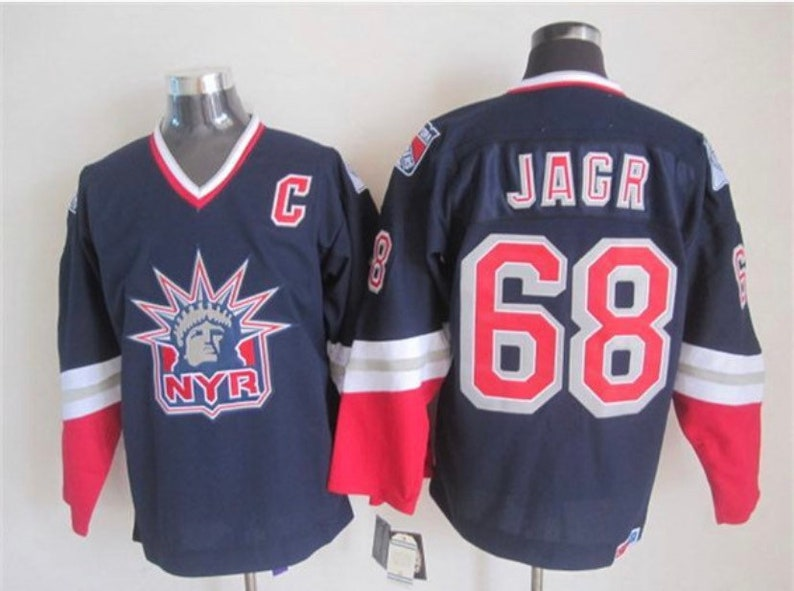 low priced 0fd82 d198e New Jaromir Jagr Men's retro Vintage New york Rangers 90's- early 2000's  Hockey jersey.