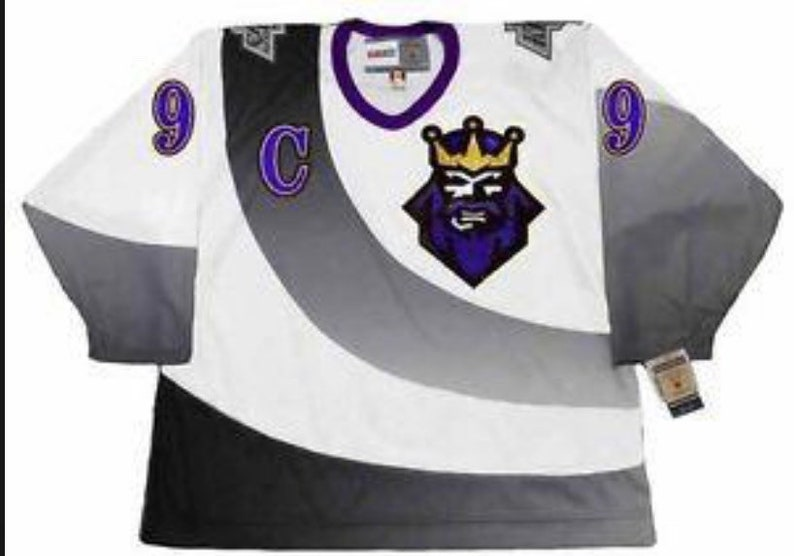 quality design 8053f e3345 New Gretzky Stitched throwback Vintage LA Kings Alternate 1995/96 jersey.