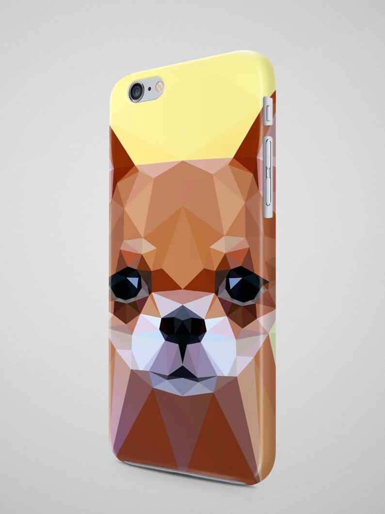 coque iphone 7 animaux geometrique