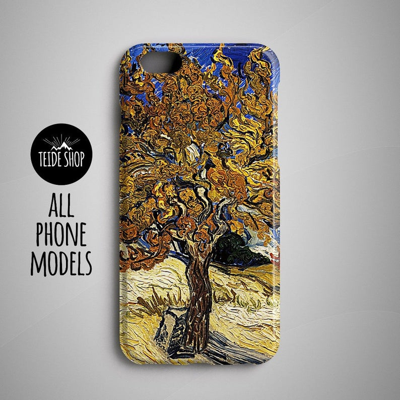 pretty nice 19891 0cbc5 Van Gogh Mulberry iPhone 7 Case Samsung Galaxy S8 Case iPhone 8 Case iPhone  8 Plus Case Sony Xperia Z5 Case iPhone 6 Case 6S Huawei P10 Case
