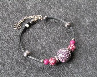 Bracelet polymer clay beads