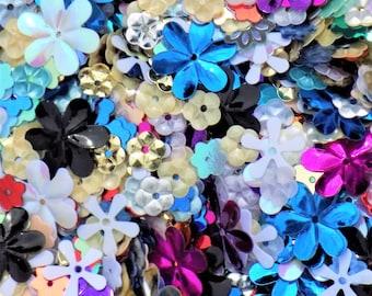 Sparkle flower sequins-flower sequins-sparkle sequins-sequins