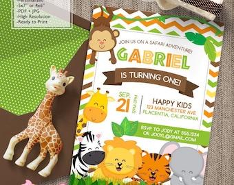 instant download safari birthday party favor tags safari etsy