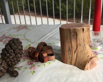 Raw Block of Aromatic Cedar