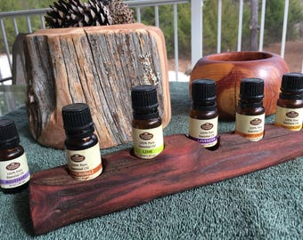 Essential Oil Holder Display Stand (5 Bottles) FREE SHIPPING