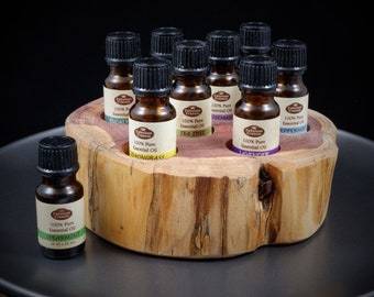 Essential Oil Holder Display Stand (8 Bottles) FREE SHIPPING